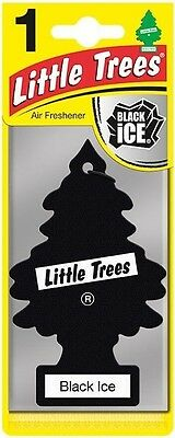 Little Trees Car Van 'Black Ice' Magic Tree Air Fresheners