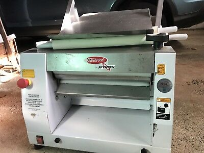 Used Fleetwood/Skyfood CLM-400 Table Top Dough Roller & Sheeter, 15lb. Capacity