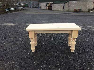 Dining Bench, Handcrafted Solid Pine Kitchen Bench,Farmhouse,chair,seat,vintage