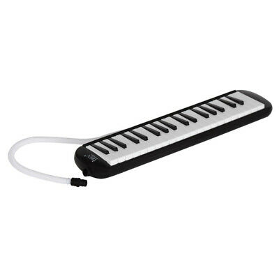 37 Key Melodion Student Melodica/Pianica with Carrying Bag Mouthpiece Black