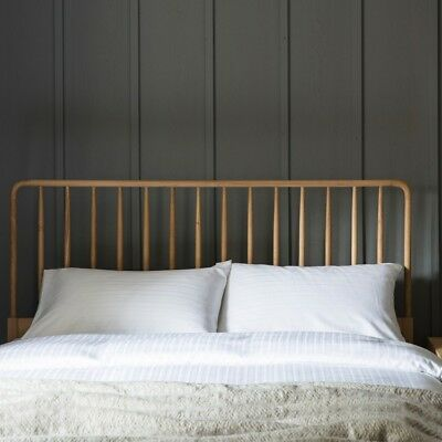 Wycombe Oak Spindle Headboard ~ Double, Kingsize, Superking