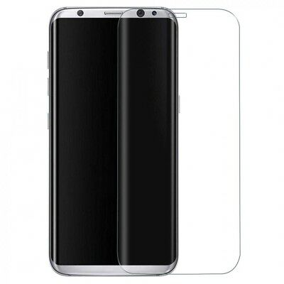 Real clear curved tempered glass film full protection for samsung s8