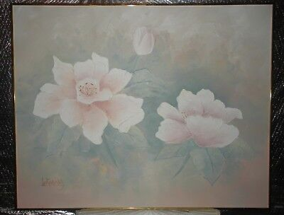 Hand Paint Oil Painting on Canvas Home Decor Wall Art Flower