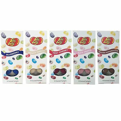 Jelly Belly Scented Tealight Candles Pack Of 10 Many Scents