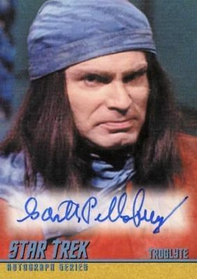 Star Trek TOS Portfolio Prints Garth Pillsbury Autograph Card A256