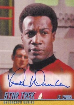 Star Trek TOS Portfolio Prints Lee Duncan Autograph Card A267