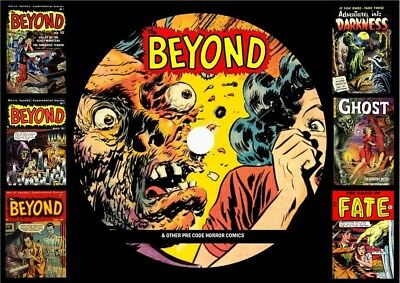Beyond & Other Pre Code Horror Comics On DVD Rom