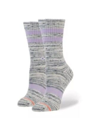STANCE Classic Crew Ankle Biters Kids' Socks - Size Youth S (7-10) Bye Felicia