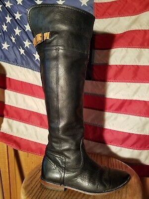 0a4a96204ab Rare Beautiful Frye Paige Otk Boots Size 6.5 Rich Black Leather So Hot!