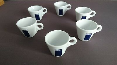 lot ensemble de 6 Tasses à café expresso LAVAZZA NEUVES