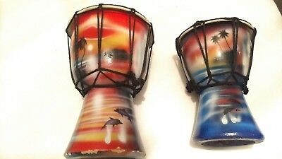 Traditional handmade drums
