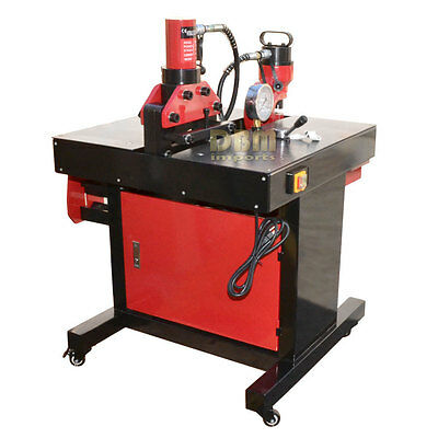 Multi-Function Busbar Processing Tool Bender Cutter Puncher Aluminum Copper