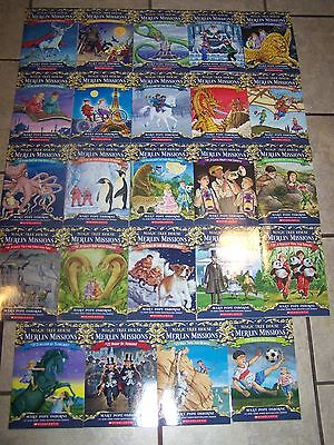 24 NEW Magic Tree House Volumes 29-52 Lot Set Merlin Mission Books $120 Osborne