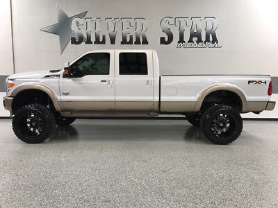2011 Ford F-350  2011 F350 SRW KingRanch 4WD FX4 SuperLift CrewCab LongBedPowerstroke 37s 22s TX!