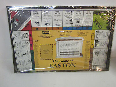 Easton mass massachusetts board game 1970's new