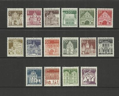 Berlin Germany ~ 1964  German Architecture (Mint Mnh)