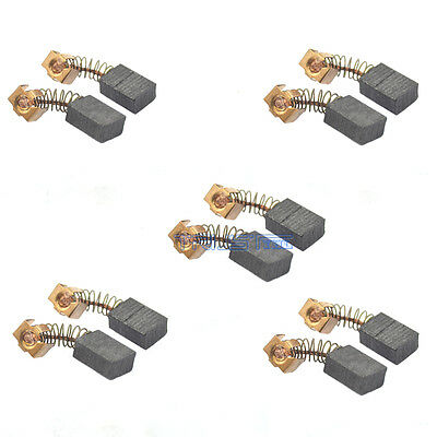 10 Pcs CB-56 Carbon Brush Replacement Part 5 x 8 x 11mm for Makita