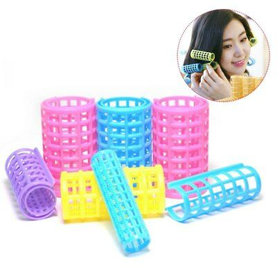 Fashion 1 Set Women DIY Hair Salon Curlers Rollers Soft Large Hairdressing Tool