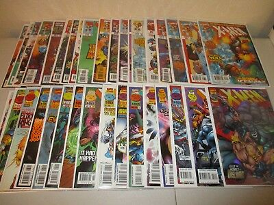 X-Men  #50-84  VF/NM  (Complete Lot of 35)   Marvel Comics 1991 Series