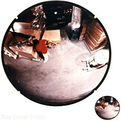 12In Round Acrylic Indoor Traffic Safety And Security Convex Mirror Shop Blind