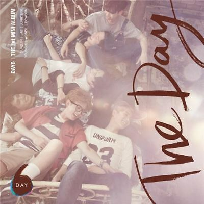 DAY6 [THE DAY] 1st Mini Album CD+Photo Book+GIFT CARD K-POP SEALED DAY SIX