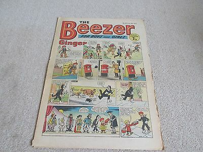 THE BEEZER COMIC, No 834- Jan 8th 1972  Good/Fair condition