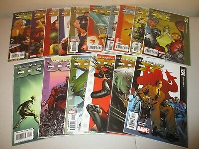 Ultimate X-Men #58-72 (Complete lot of 15) 59 60 61 62 63 64 65 66 67 68 69 70