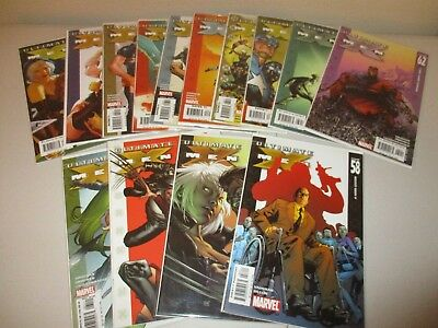 Ultimate X-Men #58-70 (Complete lot of 13) 59 60 61 62 63 64 65 66 67 68 69 70