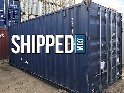 20 FT STEEL SHIPPING CONTAINER - We Deliver - SECURE HOME STORAGE in SLC, UTAH