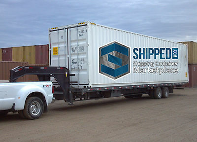 Shipping Container Tampa, Fl - We Deliver - 40' New Storage / International Ship