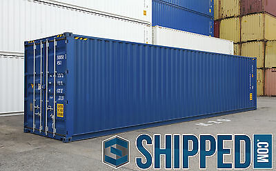40FT NEW HIGH CUBE INTERMODAL SHIPPING CONTAINER SECURE STORAGE in LAS VEGAS, NV