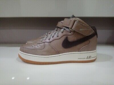 VVVNDS AIR FORCE 1 Mid Unreleased Sample sz 9 Canvas Swoosh