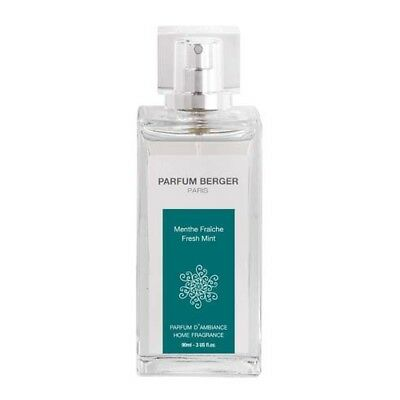 LAMPE BERGER SPRAY AMBIENTE Menthe Fraiche Bouquet Parfume 90ml 6072