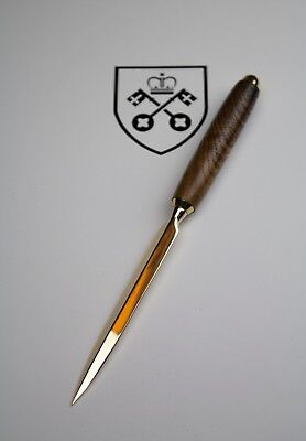 700 Year Old Wood, York Minster Cathedral Letter Opener - Limited Supply