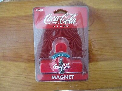 Vintage Coca Cola Magnet Chip Clip New in Package