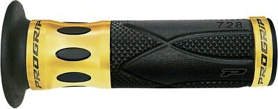 Pro Grip 728 Anodized Road/Scooter Grips Gold/Black 728GD