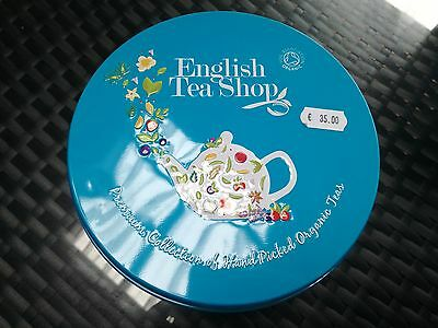 Boite Ronde English tea shop Thé Collection Premium Bio