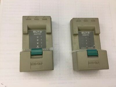 MOD-TAP SLT3 Master/Remote Cable Tester 568A 568B USOC 4 Pair Voltage Test..D19