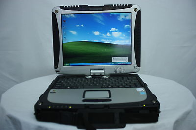 BEST Yellow Panasonic Toughbook CF-19 MK3 Core Duo 2GB 160GB Windows 7 TABLET B