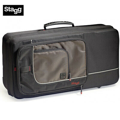 Stagg SC-TP Black Nylon Deluxe Padded Trumpet Soft Case with Ergonomic Straps