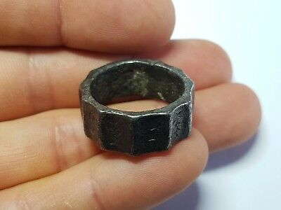Roman Silver Military Ring 3rd -4th century AD