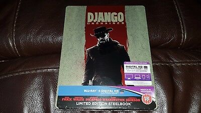 Blu Ray - Django Unchained [UK Exclusive] STEELBOOK **NEW/SEALED**