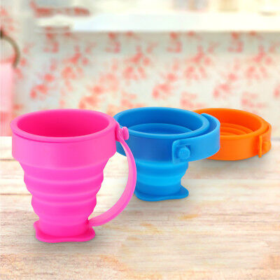 Silicone Collapsible Cup Folding Cup Silicone Drinking Travel Camping