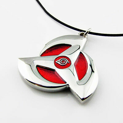 New Naruto Sharingan Red Metal Pendant Necklace Cospaly Accessories Hot