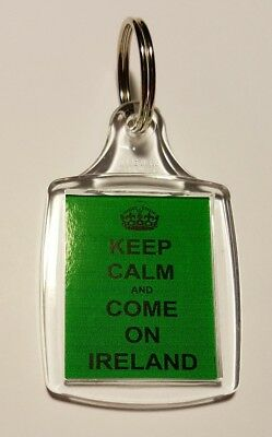 """/""""Keep Calm Butlins Here We Come/"""" Holiday Keyring"""