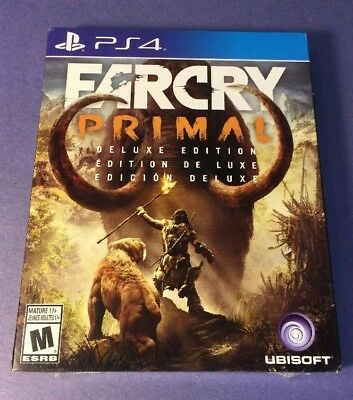 Far Cry Primal DELUXE Edition [ STEELBOOK Package ] (PS4) NEW