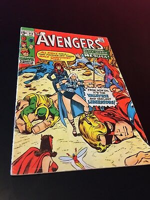 Avengers #83 (1970) 1st Valkyrie & her Lady Liberators-key issue upcoming movie!