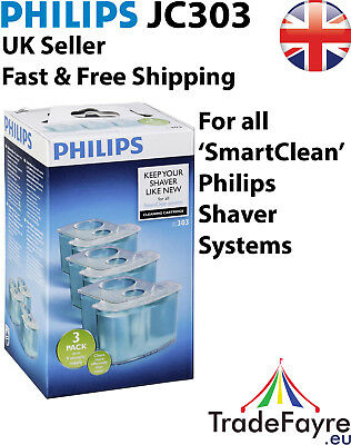 PHILIPS JC303 SmartClean Cleaning Cartridge 3-PACK (9 MONTHS SUPPLY)