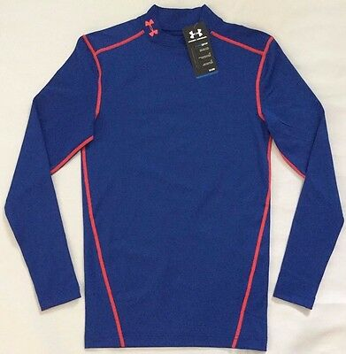 NWT Men's Under Armour ColdGear Compression Mock Long Sleeve Shirt XL MSRP $50