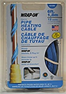 31006 6' Heat Cable with Therm, Wrap-On Company Inc, EACH, EA, UL listed pipe he
